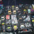 Kevin Shields' pedalboard 2008
