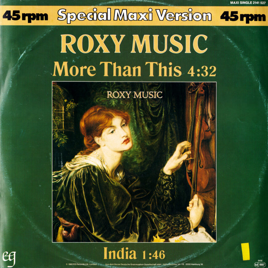 """Iterations: Roxy Music – """"More Than This"""""""