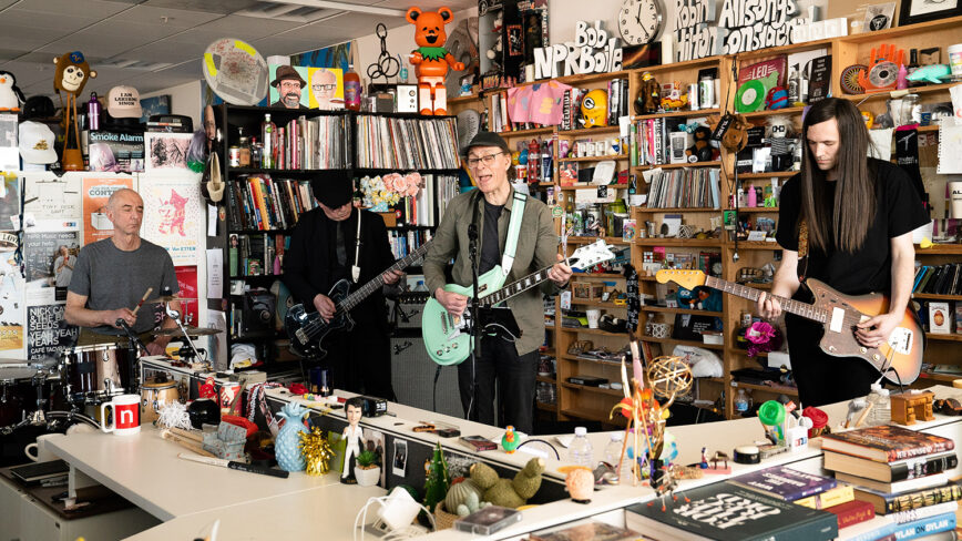Wire: NPR Tiny Desk Concert and Live at Paste Studios – March 2020